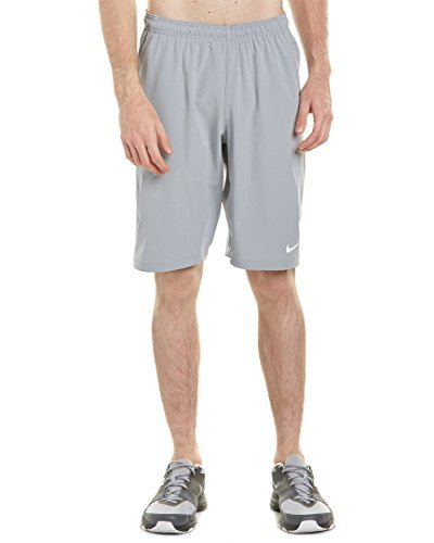 NIKE Men's Dri-FIT Woven Tennis Short (Large, Stadium (Nike Dri Fit Tennis Shorts)