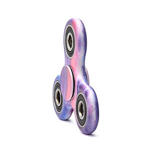 MASCOTKING Fidget Spinner Toy Stress Reducer Hand spinner fidget toys hand fidget (Blue-G7)