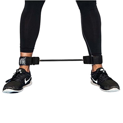 Lateral Stepper (Fitness Health Lateral Stepper Resistance Band With Ankle Straps Leg Exercise Training System)