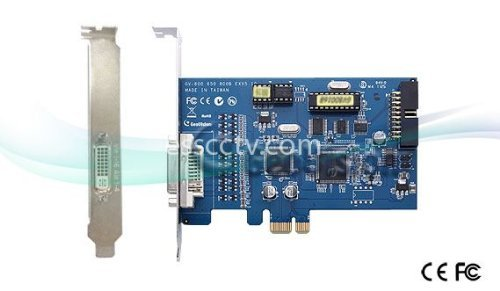 GEOVISION DVR card, GV-600 8CH, 30 FPS live display and record playback