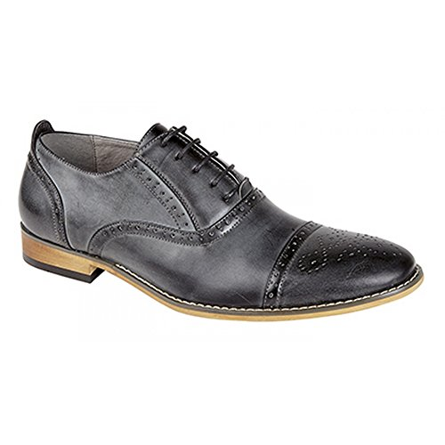 Marrone Scarpe Goor da Brogue Oxford Uomo n4Oww1zq