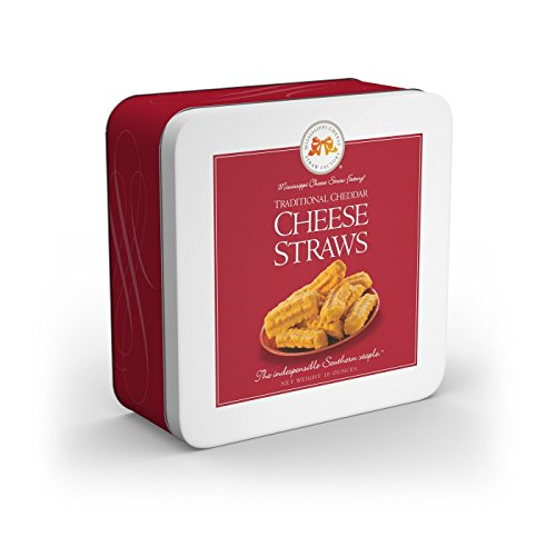 Mississippi Cheese Straw Factory Gift Tin (Traditional Cheddar ()