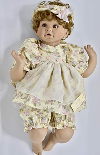 1991 - J.C. Penney/Cindy Marschner Rolfe - Chelsea Exclusive Porcelain African-American Doll - 21 Inches - OOP - Collectible - Numbered ()