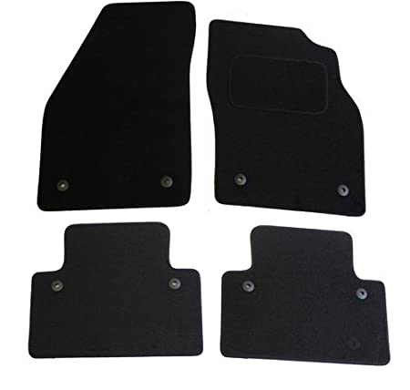 Volvo S40 2004 to 2012 Tailored Carpet Car Floor Mats with logo 8 Clips