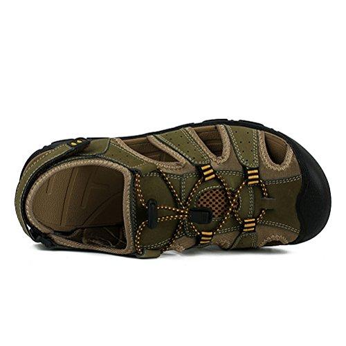 Hn Scarpe Passeggio Armygreen Shoes Uomo Da Sandali Spiaggia rqrFwzA