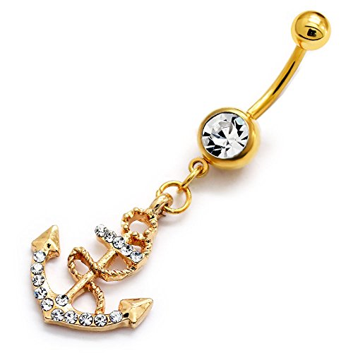 316l-surgical-grade-stainless-steel-gold-tone-crystal-w-dangling-crystal-anchor-16g-body-barbell-297