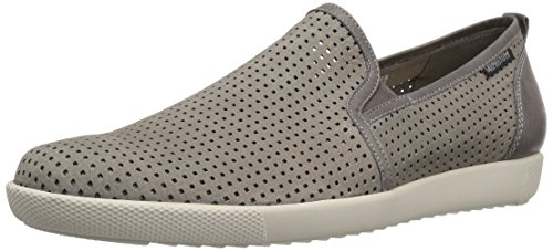 Mephisto Men's Ulrich Slip-On Loafer, Light Sportbuck/Dark Grey Steve, 7 M -