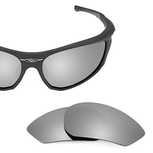 Verres de rechange pour Rudy Project Zyon — Plusieurs options Titanium MirrorShield® - Polarisés