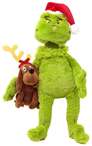 The Manhatt Toy Company Grinch and Max Stuffed Animal Plushie Exclusive from The Manhatt Toy Company