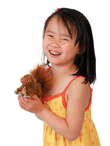 Folkmanis Mini Red Squirrel Finger Puppet