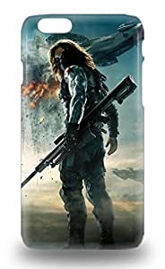 Iphone 3D PC Soft Case Tpu 3D PC Soft Case Protective For Iphone 6 Hollywood Captain America The Winter Soldier Sci Fi Adventure Action ( Custom Picture iPhone 6, iPhone 6 PLUS, iPhone 5, iPhone 5S, iPhone 5C, iPhone 4, iPhone 4S,Galaxy S6,Galaxy S5,Galaxy S4,Galaxy S3,Note 3,iPad Mini-Mini 2,iPad Air )