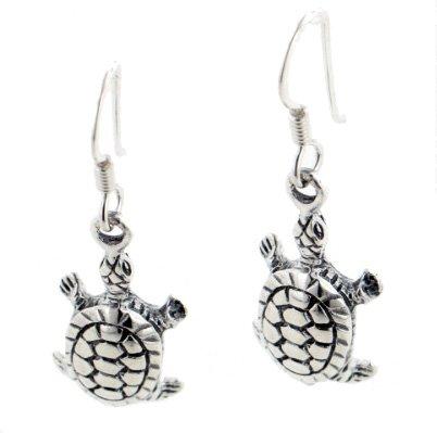 New Sterling Silver Turtle or Tortoise Hook ()