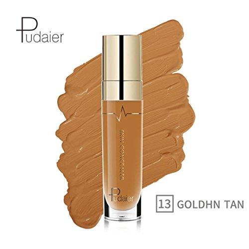 Oksale 22 Colors Face Eye Foundation Concealer Highlight Contour Liquid Stick Makeup Natrual Cream (#13)