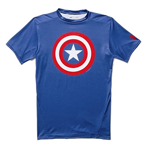 Under Armour T-Shirt Alter Ego Captain America T.shirt m / m Fitness 1273691-410