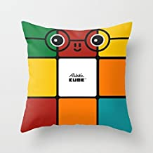 """Poppylife Rubik´s Cube Square Throw Pillow Covers 20""""x 20"""""""