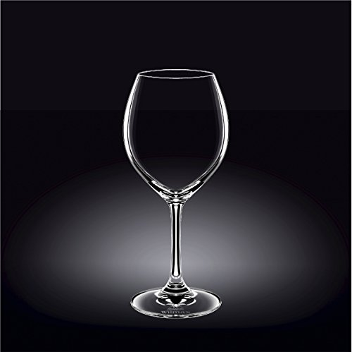 Wilmax 888010 490 ml Wine Glass Set of 644; Pack of 8 by Wilmax (Image #1)