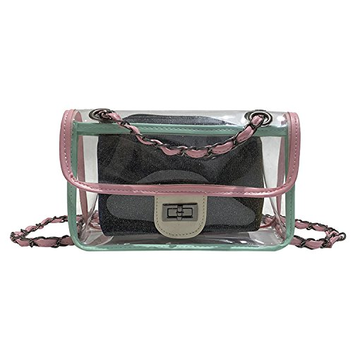 Notag - Synthetic Green Shoulder Bag Woman