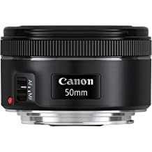 Canon EF 50mm f/1.8 STM Lens Bundle with Manufacturer Accessories & Accessory Kit for EOS 7D Mark II, 7D, 80D, 70D, 60D, 50D, 40D, 30D, 20D, Rebel T6s, T6i, T5i, T4i, SL1, T3i, T6, T5, T3, T2i, T1i