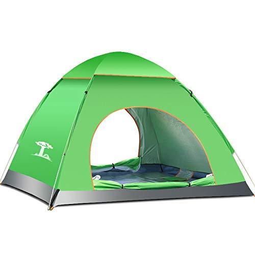 SHT Wildes Strand-Zelt, Im Freien Automatische Geschwindigkeit Öffnen Campingzelt Im Freien Kampierendes Touristisches Zelt,Grün