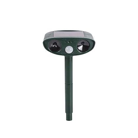 Amazon.com: OSALADI Ultrasonic Solar Rechargeable Animal ...