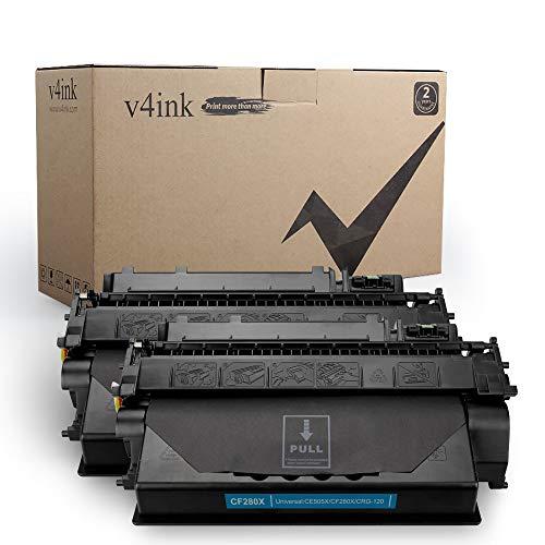 3 Pack Compatible CF280X 80X Toner for HP LaserJet Pro 400 M401n M401dn M425dn