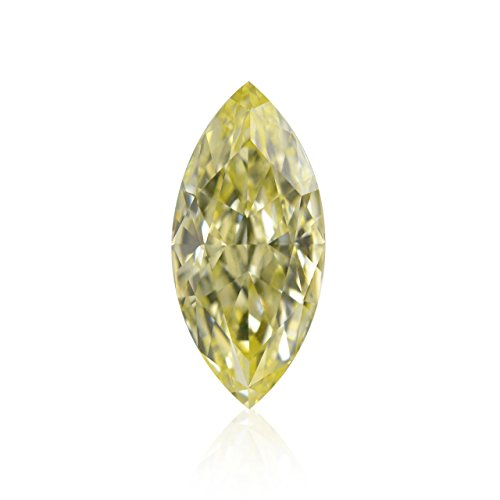 1.32Cts Y-Z, Light Yellow Loose Diamond Natural Color Marquise Shape GIA Cert (Marquise Loose Diamonds Vs2)