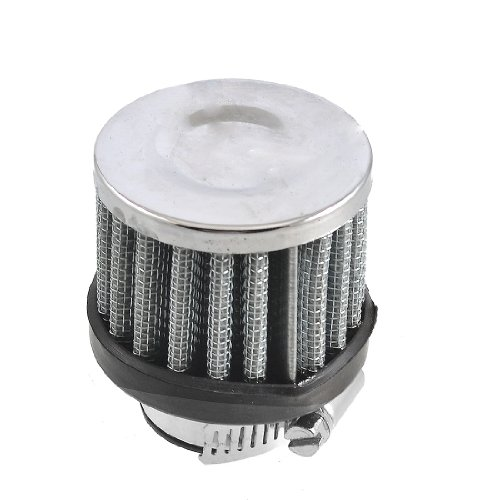 uxcell 18mm-25mm Hose Clamp Conical Mesh Car Air Filter Silver Tone 25mm 1""