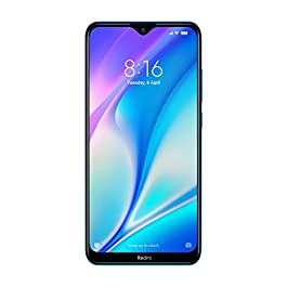 Redmi 8A Dual (Sea Blue, 3GB RAM, 32GB Storage)
