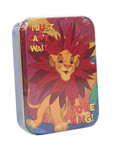 Collectors Storage Tin - Genuine Disney The Lion King 2oz Collectors Tin Storage Keepsake Simba