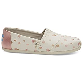 TOMS Women's Pale Blush Metallic Dots Classics 10012652 (Size: 9.5) (B0778X8HG6) | Amazon price tracker / tracking, Amazon price history charts, Amazon price watches, Amazon price drop alerts
