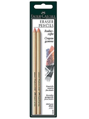 Faber-Castell Perfection Eraser Pencils (4 Packs of 2) by Faber-Castell