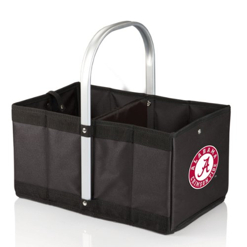 NCAA Alabama Crimson Tide Urban Market Basket, Black
