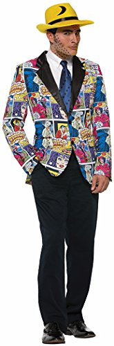 Forum Novelties Comic Book Blazer Adult Costume Standard - Pop Art Comic Girl Costume