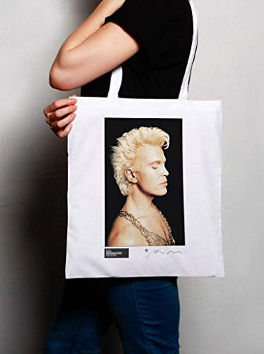 Rock White Tote Bag Billy Idol 4wq506yO