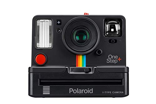 Polaroid Originals OneStep+ Black (9010), Bluetooth Connected Instant Film Camera (Classic Polaroid Camera Film)
