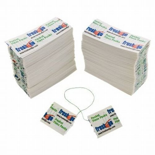 240 Pocket soie dentaire Packs emballés individuellement Simple Voyage Japonaises Monnaie