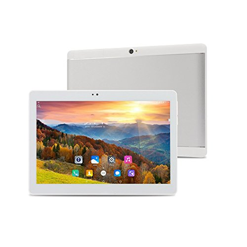 ibowin M130 10.1Inch tablet PC 1280×800 IPS Display MediaTek Quad core CPU 1G RAM 16G ROM Android PC WIFi Bluetooth (Silver)