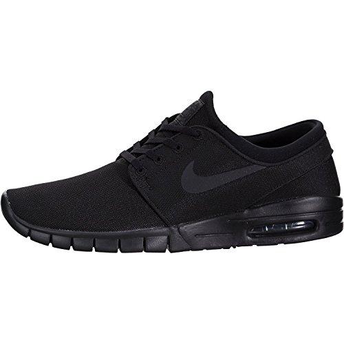 Nike Stefan Janoski Max Mens Sneakers, Black/Black/Anthracite/Black, 13 D(M) US