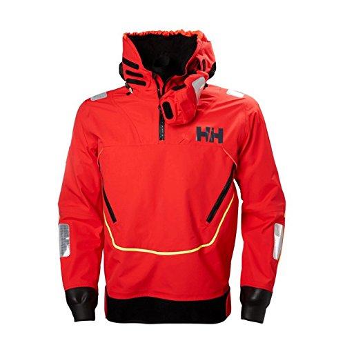 (Helly Hansen Men's Aegir Race Smock Jacket, Alert Red, M)