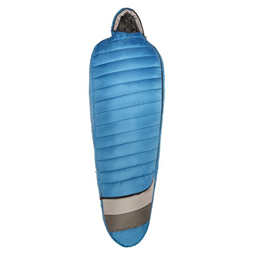 Kelty Tuck 40 Degree Thermapro Ultra LH Sleeping Bag, Lyons Blue/Smoke, Regular