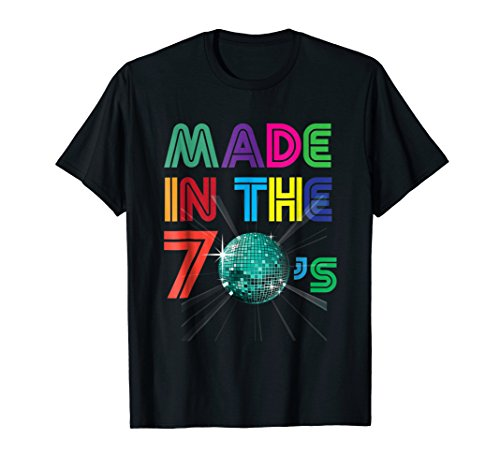 Vintage Retro Made In The 70s Gift +- 40 Yrs Years Old Shirt