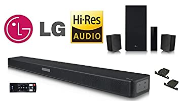 LG SK5R 4 1 Channel 480W RMS Sound bar: Amazon co uk