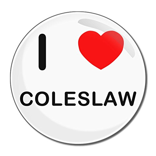 I Love Coleslaw - 77mm Round Compact Mirror