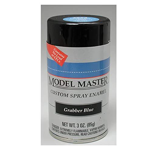 Testors Model Master Spray Enamel Grabber Blue 3oz. 85g #2964 ()