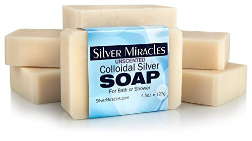 Colloidal Silver Soap – 6 pack
