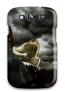 Lucas B Schmidt's Shop Q2LQ6CWTSYE5FKKU Hot Fashion Design Case Cover For Galaxy S3 Protective Case (dark Sadness)