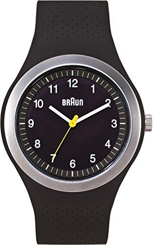 Braun Men's BN0111BKBKG Sport Analog Display Quartz Black Watch