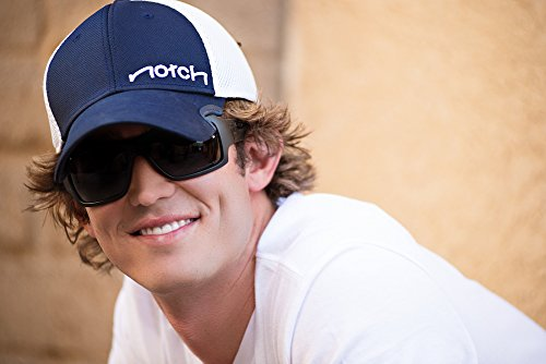 Notch Classic Fitted Navy/White Cap L/XL