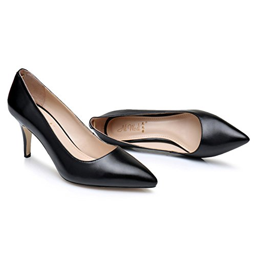 Heels High Mid Womens Shoes Black Shoes Low Slip Dress Office Party Wedding Pumps Court On Ladies Prom Evening IRpUqwEdp