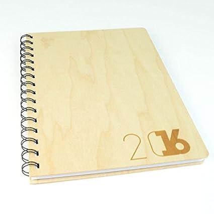 Absolu Wood - Agenda 2016 internacional (tapa de madera de ...
